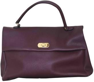 Marni Purple Leather Handbags