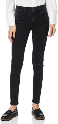 French Connection Women's Skinny Rebound Ripped Denim