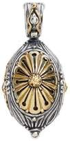 Konstantino Women's 'Hebe' Etched Cone Pendant