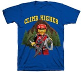 Lego Boys' Minfigure T-Shirt - Blue