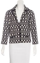 Tory Burch Polka Dot Knit Jacket