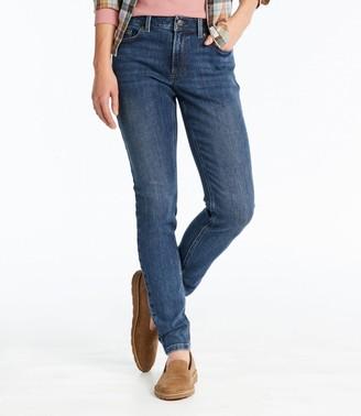 L.L. Bean Women's BeanFlex Jeans, Favorite Fit Skinny-Leg
