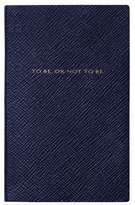 Smythson Shakespeare 6 Panama Journal, Navy