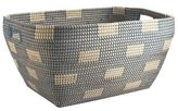 Pier 1 Imports Evie Blue Seagrass Oversized Basket