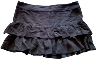 BA&SH Bash Anthracite Silk Skirts