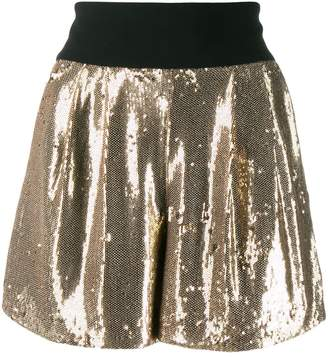 P.A.R.O.S.H. sequinned shorts