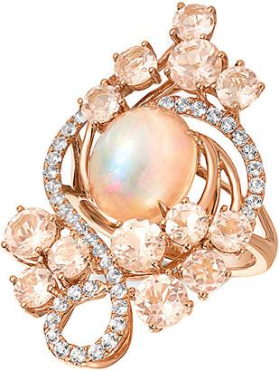 LeVian Le Vian 14K Rose Gold 6.12 Ct. Tw. Gemstone Ring