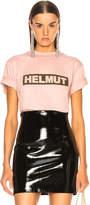 Helmut Lang Logo Tall Tee