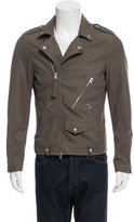 AllSaints Niko Leather Biker Jacket