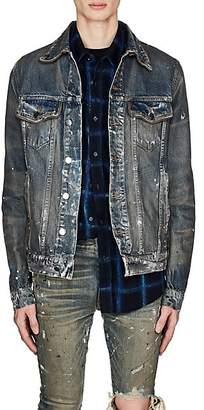 Amiri Men's Paint Splatter Denim Jacket