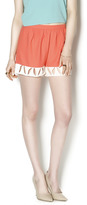 Sugar Lips Coral Petal Short