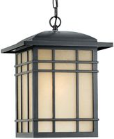 Quoizel Hillcrest Imperial Large Hanging Lantern in Bronze Finish