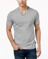 Kenneth Cole New York Men's Split-Neck T-Shirt