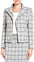 Halogen Windowpane Check Stretch Suit Jacket (Regular & Petite)