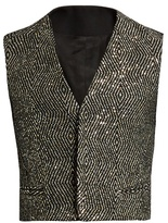 Haider Ackermann Orbai Sequin-embellished Waistcoat