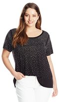 Calvin Klein Women's Plus-Size Scatter T-Shirt