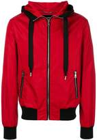 Dolce & Gabbana contrast trim hooded jacket