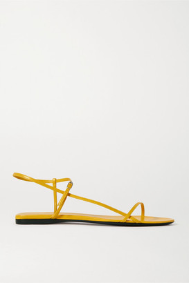 The Row Bare Leather Sandals - Yellow