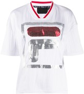 Fila Miu wrinkled logo T-shirt