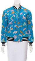 Antipodium Cry Baby Silk Bomber