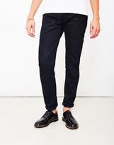 Edwin ED-55, White Listed Black Selvedge, Relaxed Tapered, 13oz, Unwashed Jeans