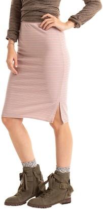 Synergy Striped Strut Skirt