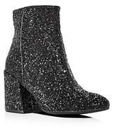 Kenneth Cole Women's Randii Glitter Block Heel Booties