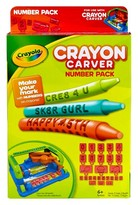Crayola Crayon Carver Expansion Pack - Numbers