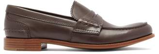 Church's Pembrey Leather Penny Loafers - Womens - Dark Brown