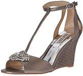 Badgley Mischka Women's Nedra II Wedge Sandal