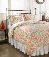 L.L. Bean Sateen 340-Thread-Count Comforter Cover, Floral