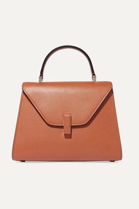 Valextra Iside Medium Textured-leather Tote