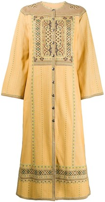 Etro Button-Up Mid-Length Dress