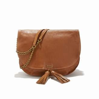 Ikks The Plum Flap Bag with Shoulder Strap