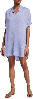 Finley Crosby Soft Wash Linen Shift Dress