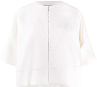 Valentino VLOGO short-sleeved jacket