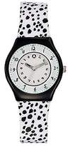 Lulu Castagnette Girl's Quartz Watch with Silver Dial Analogue Display and Plastic Multicolour - 38794