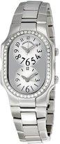 Philip Stein Teslar Women's Signature Stainless Steel Diamond Watch 1d-b-fw-ss