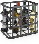 Crate & Barrel Harrington Wine Bottle Caddy