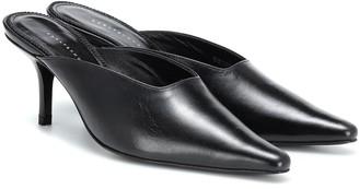 Dorateymur Groupie leather mules