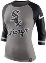 Nike Women's Chicago White Sox Tri Raglan T-Shirt
