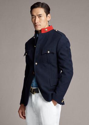 Ralph Lauren Stand-Collar Cotton Jacket