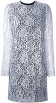 MSGM lace long sleeve mini dress - women - Polyamide/Polyester/Viscose - 40