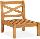 Pottery Barn Sectional Armless Chair Frame