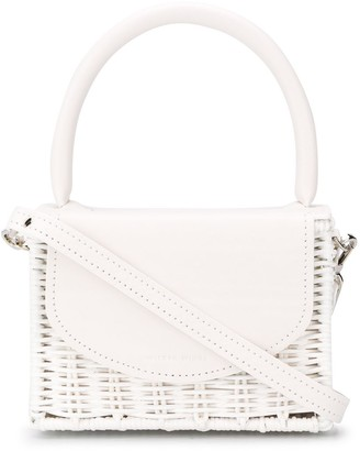 Wicker Wings Babing woven tote