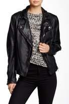 Muu Baa Muubaa Monteria Genuine Leather Biker Jacket