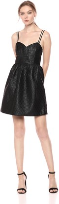 BCBGeneration Women's Metallic Cocktail Dress