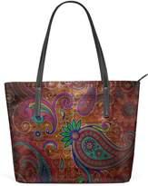 DEYYA Womens Large Tote Top Handle Shoulder Bags Wooden Texture Patterns Pattern Ladies Handbag