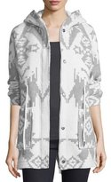 Woolrich Felted Wool Button-Front Knit Jacket