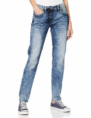 Cecil Women's 372797 Charlize Slim Fit Jeans